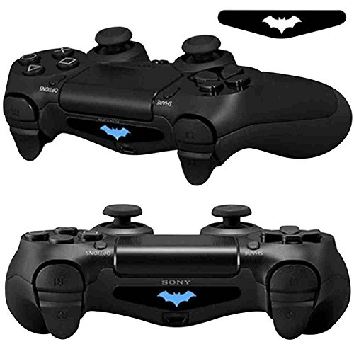 Mod-Freakz-Pair-of-LED-Light-Bar-Skins-No-Head-Bat-Wings-for-PS4-Controllers