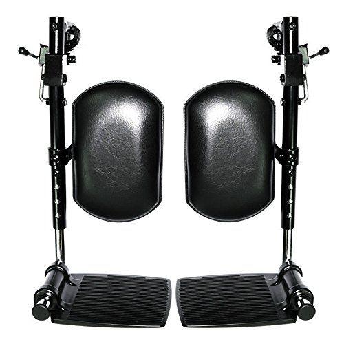 Elevating Leg Rests with Calf Pad for Jazzy and Jet Power Chairs Right & Left