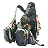 Best Fishing Vests - Amarine-made Fly Fishing Backpack Adjustable Size Mesh Fishing Review