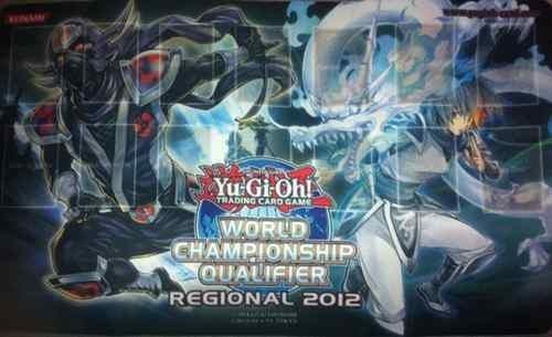 Konami Yugioh New 2012 Regional Hanzo & White Dragon Ninja World Championship Qualifier playmat unused