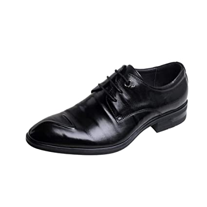 7dd4d07f44e05 Amazon.com: Mens Formal Shoes,Spring Fall Leather Shoes, New ...