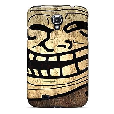 New Arrival Galaxy S4 Case Troll Face Meme Wallpaper Case Cover