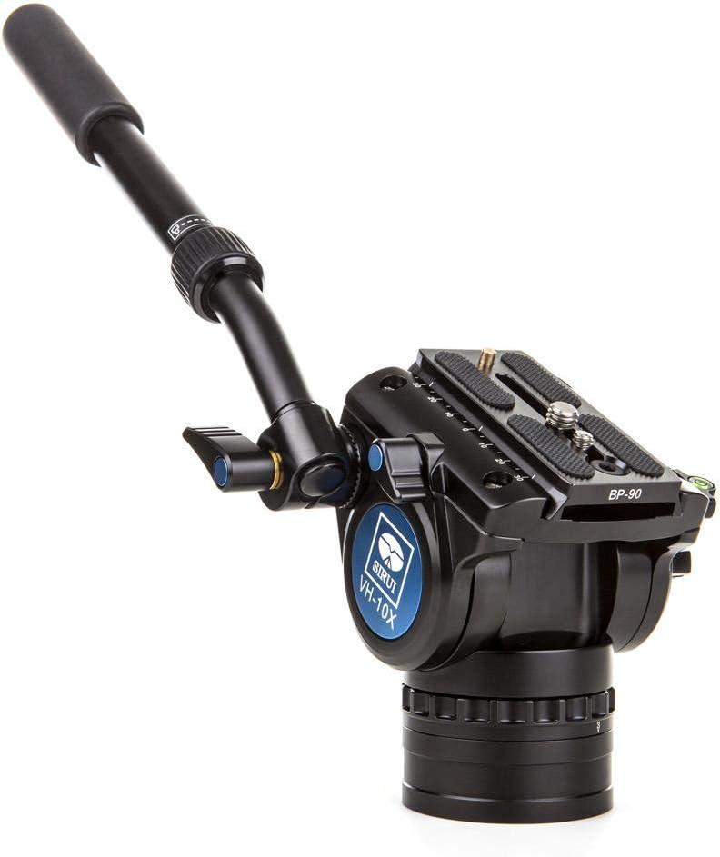 Sirui P 424sr Vh 10x Einbeinstativ Mit Standspinne Und Kamera