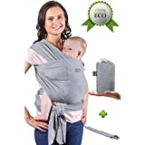 Baby Wrap Carrier - Baby Sling up to 35 lbs - Infant...