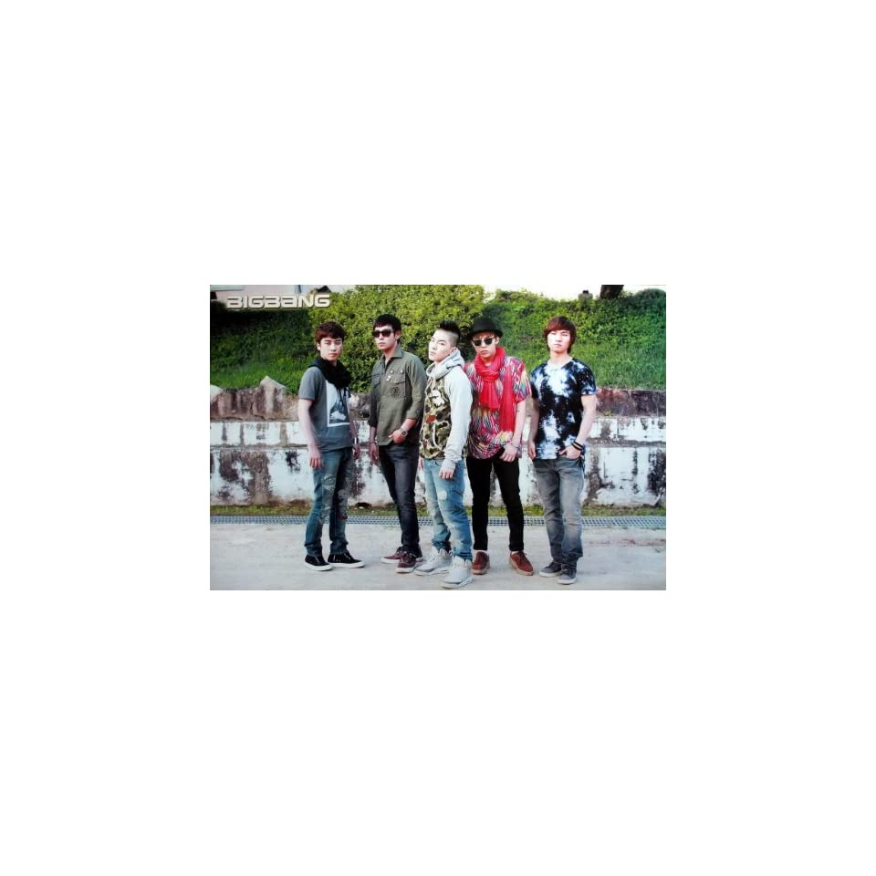 J 4178 Big Bang Bigbang Korean Boy Band Pop Dance Music Wall Decoration Poster Size 35x23.5