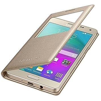 Samsung BT-EFCA500BF - Funda oficial para Samsung Galaxy A5 A500, color amarillo- Versión Extranjera
