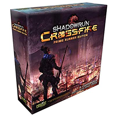 Shadowrun Crossfire Prime Runner Edition: Toys & Games