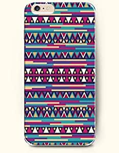 SevenArc Aztec Indian Chevron Zigzag Pattern Hard Case for Apple iPhone 6 Plus 5.5' (2014) ( Beautiful Aztec Pattern...
