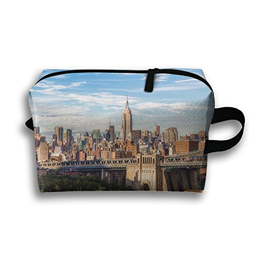 Manhattan Stationary - WECJJ New York City Manhattan Bridge Unisex Tourist Stationary Case