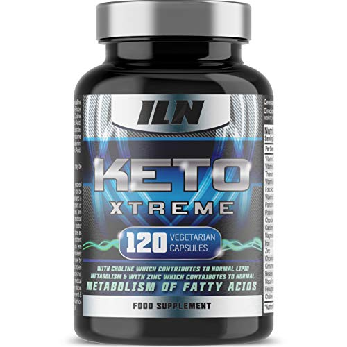 Keto Xtreme – Supplement for Ketogenic Diet – with Zinc for Metabolism of Fatty Acids – Full 1 Month Course (120…
