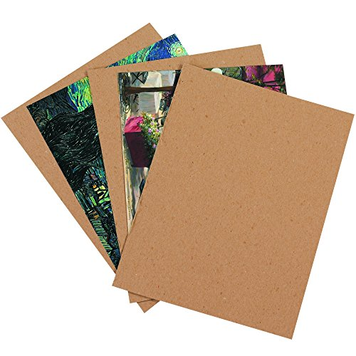 BOX USA BCP810 Chipboard Pads, 8