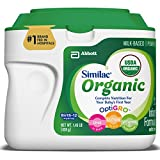 Similac Organic Infant Formula with Iron, USDA Certified Organic, Baby Formula, Powder, 1.45 lb (Pack of 6)