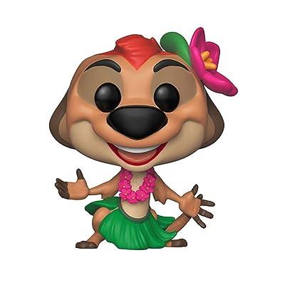 Funko Pop! Disney: Lion King - Luau Timon Toy, Multicolor: Toys & Games