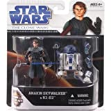 Star Wars The Clone Wars Anakin Skywalker and R2-D2 2-Pack