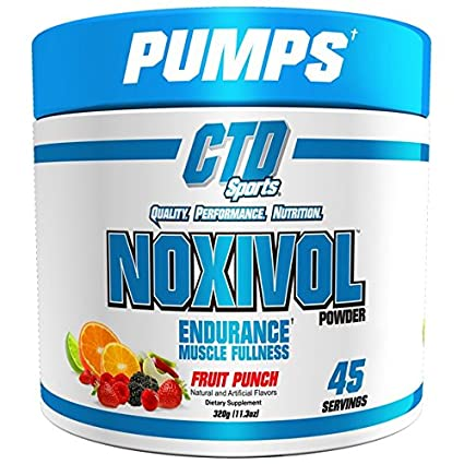 CTD Sports Noxivol Powder 45 srv. Best Nitric Oxide Booster,...