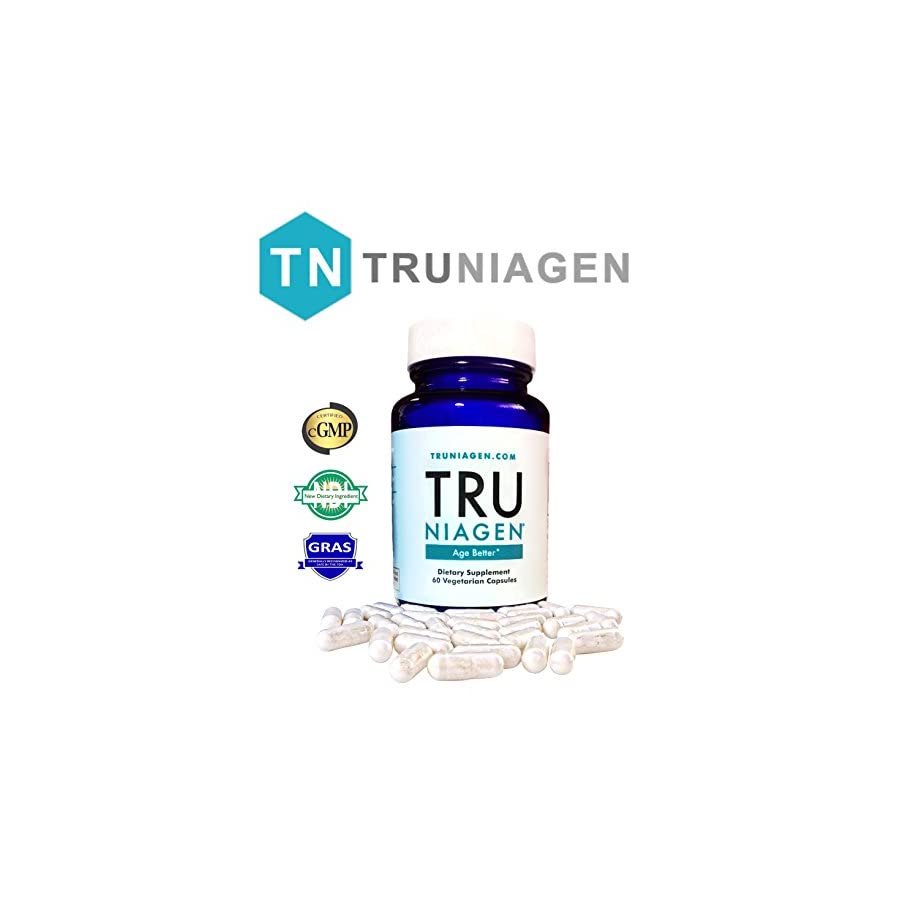 TRU NIAGEN Vitamin B3 | Advanced NAD+ Booster | Nicotinamide Riboside NR | Increases Energy & Promotes Anti Aging