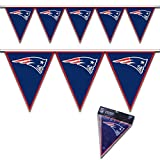 Amscan New England Patriots Pennant Banner