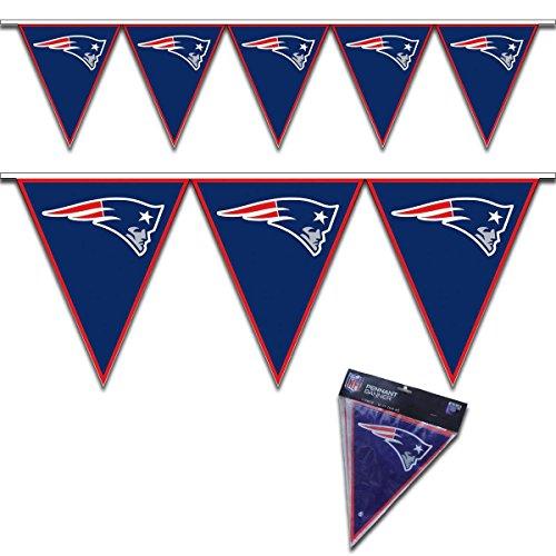 Amscan New England Patriots Pennant -