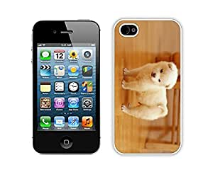 Slim Iphone 4 Case Cute Dog 4s White Cover for Girls Boys Personalized Cell Phone Accessories