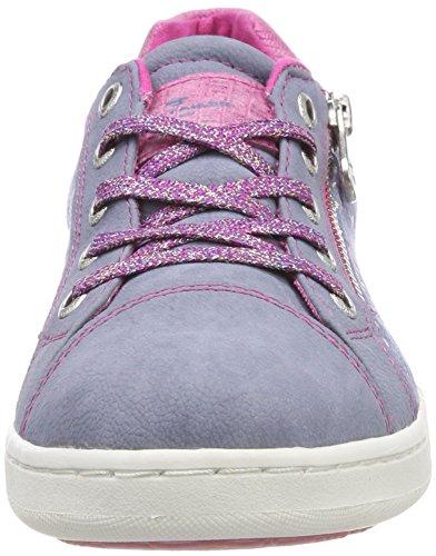 TOM TAILOR Mädchen 4872701 Sneaker Blau (Flieder)