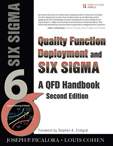Quality Function Deployment and Six Sigma, Second Edition (paperback): A QFD Handbook (QFD Handbooks)