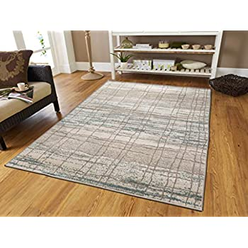Gray Rugs for Living Room 5x7 Gray Rugs with Natural Jute Backing 5'x8'