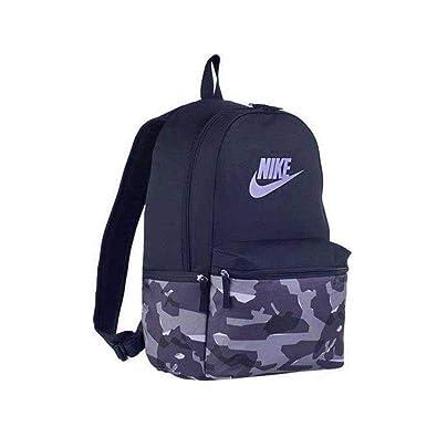 pretty nice 3364f 0e24e Nike NK HERITAGE BKPK - AOP CAMO, Unisex Adults  Backpack, Multicolour  (Blue Recall Blue Rec), 15x24x45 cm (W x H L)  Amazon.co.uk  Shoes   Bags