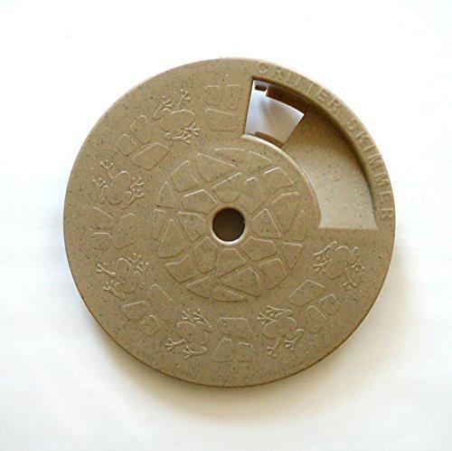 Critter Skimmer 9-Inch Round Pool Skimmer Cover, Tan