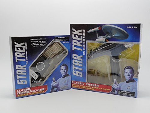 Diamond Toys Star Trek Original Series Communicator and P...