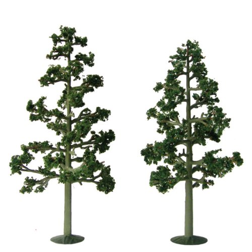 8 Inch Pine Trees - JTT Scenery Products Super Scenic Series