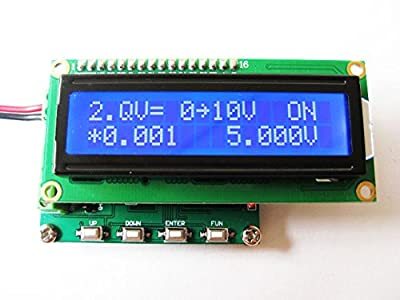Utini Two Way Output Current Voltage Signal Generator 4-20mA/0-10V Signal Source Transmitter