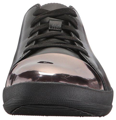 Mirror Black Toe F Sporty Noir Sneaker F Sporty Leather UxtgRz