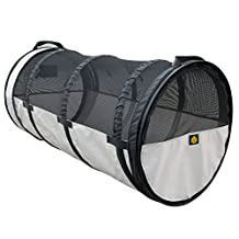 FrontPet Car Crate Tube Kennel: Universal Fit for Most Vehicles 24 Diameter x 47 Length