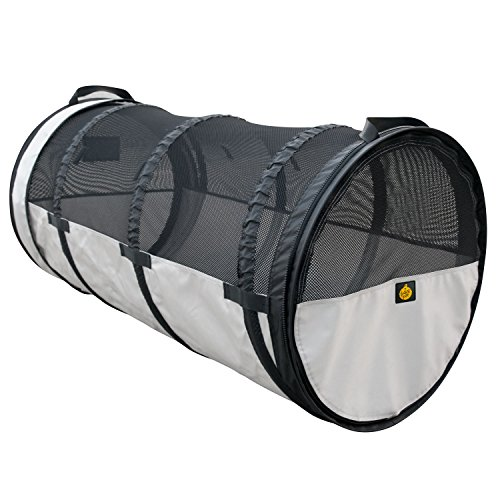 - FrontPet Pet Car Crate Tube Kennel: Universal Fit