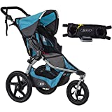 Best off road jogging stroller - BOB Revolution FLEX Stroller - Lagoon with Handlebar Review