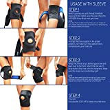 WITKEEN-Knee-Support-Brace-Immediate-Relief-for-Arthritis-Tendonitis-Sports-Sprains-Protects-Against-Further-Knee-Damage-Irritation-Free-Construction-Comfortable-for-Everyday-Wear