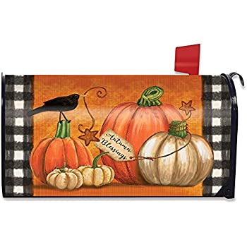Briarwood Lane Pumpkin Patch Pickup Autumn Large Mailbox Cover Oversized
