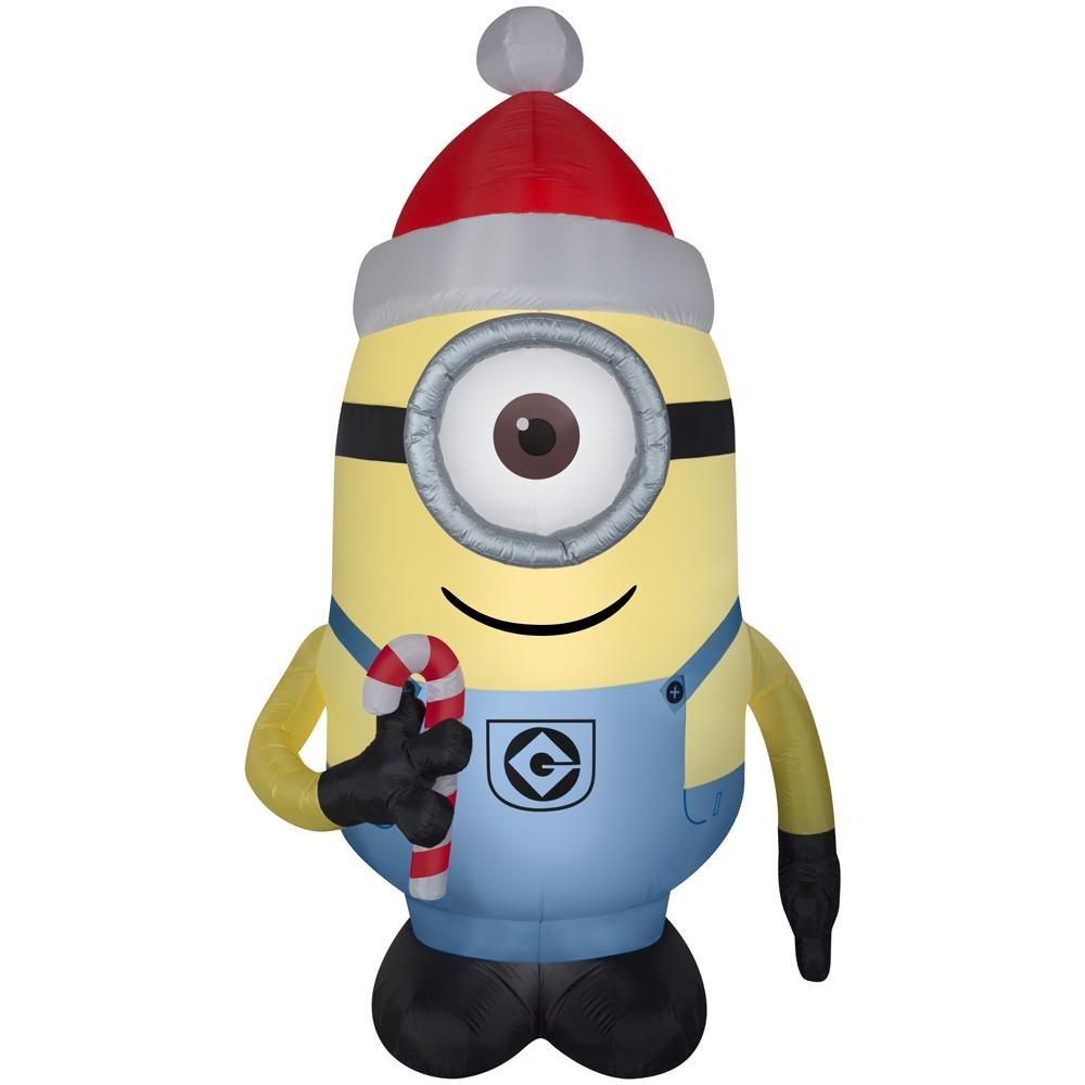 Illumination entertainment Despicable Me Minion Made Stuart inflatable Christmas decor 7.5 FT Tall