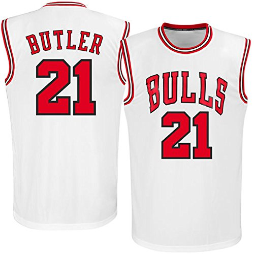 Men's Jimmy Butler #21 White Home Jersey Basketball Jersey