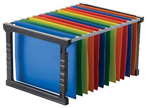 Officemate Plastic Hanging File Folder Frame, 18 Inch, Letter and Legal Size. 1 Set (91961)