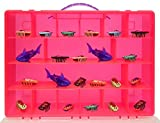 Life Made Better Toy Storage Organizer. Fits Up to 40 Bug Toys. Compatible With Hex Bug TM Toy Figures