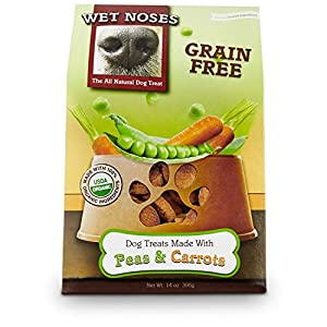 Wet Noses All Natural Dog Treats, Made in USA, 100% USDA Certified Organic, Non-GMO Project Verified