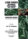 Land Rover Defender Petrol and Diesel 1993/1995 MY Workshop Manual