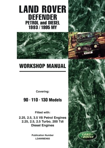 Petrol and Diesel 1993/1995 MY Workshop Manual ()