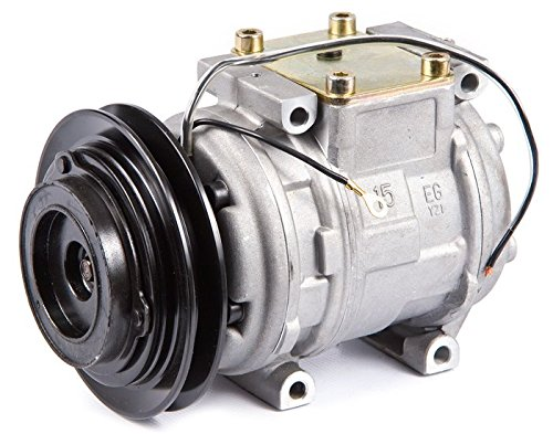 AC Compressor & V-Belt A/C Clutch For Toyota Hilux Pickup Truck 4Runner 22RE Land Cruiser FJ62 & For Kia Sportage - BuyAutoParts 60-01291NA NEW