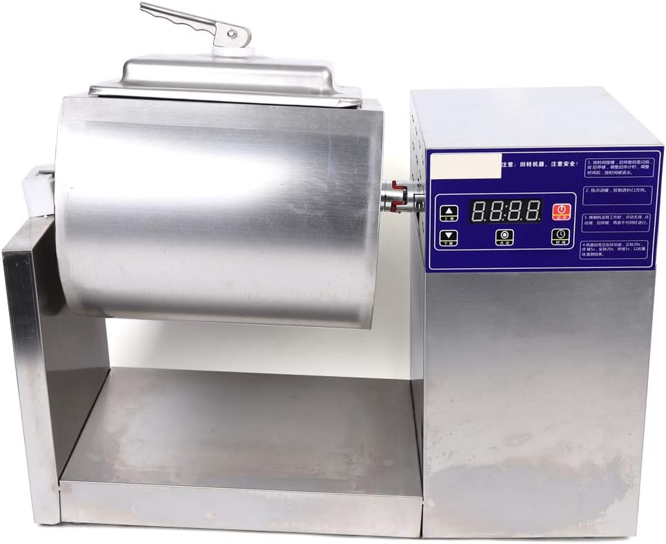 18L Electric Food Marinator Tumbling Pickled Machine Professional Marinade System 110V