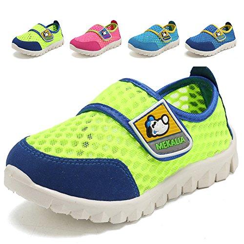 CIOR Kids Mesh Light Weight Sneakers Running Shoe for Boys Girls Footwear