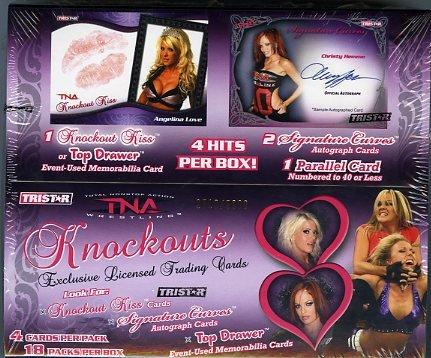 UPC 822921068569, 2009 Tristar TNA Knockouts Wrestling Hobby Box
