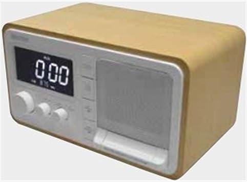 Daewoo DRP-133 - Radio (Reloj, Digital, FM, 2 W, Gris)