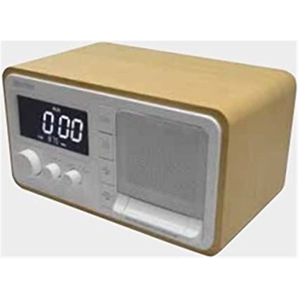 Daewoo DRP-133 - Radio (Reloj, Digital, FM, 2 W,